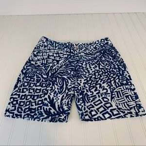 Lilly Pulitzer Blue Chipper Shorts